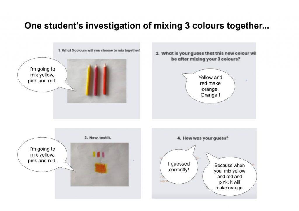 investigation 3 colours