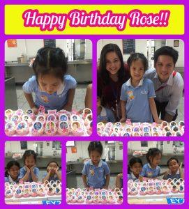 Rose's Birthday