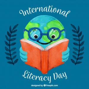 International-Literacy-Day-earth-reading-book