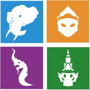 4 house logos