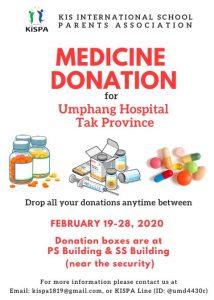 Medicine donation p.1