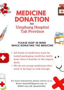 Medicine donation p.2