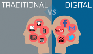 traditional vs digital