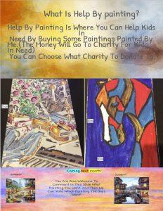rayshaun help by painting