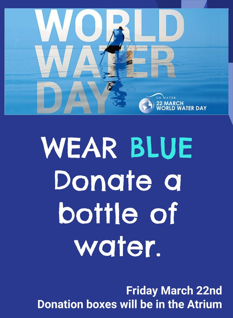 WORLD WATER DAY 2019 Friday 22nd March(3)