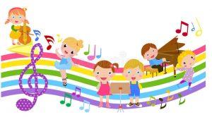 cartoon-children-music-illustration-cute-38424256